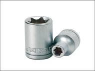 Teng TENM120722 - Torx S2 Socket 1/2in Drive E22