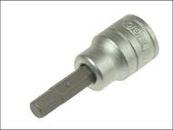 Teng TENM381506 - S2 Hex Socket Bit 3/8in Drive 6mm
