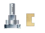 Trend TRE34812TC - 348 x 1/2in TCT Intumescent Cutter Set 15mm