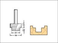 Trend TRE361912TC - 36/19 x 1/2 TCT Strip Recesser 9.5 x 19 x 13 x 6mm