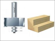 Trend TRE4639012TC - 46/390 x 1/2 TCT Bearing Guided Rebater 22.5mm x 50.8mm