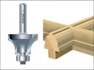 Trend TRE4675014TC - 46/7/50 x 1/4 TCT Bearing Guided Glazing Bar 10mm Radius