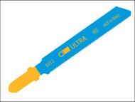 Ultra ULT8012 - 8012-HSS Jigsaw Blades Card of 5 Metal T118G