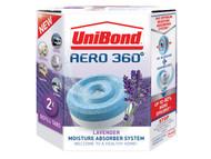 Unibond UNI1989246 - Aero 360 Moisture Absorber Lavender Refills Pack of 2