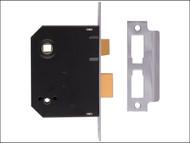 UNION UNNJ2294CH25 - 2294 Mortice Bathroom Lock Chrome Finish 63mm 2.5in Box