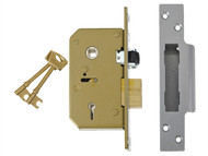 UNION UNNV3K75SC67 - 3K75 C-Series 5 Lever Sashlock Satin Chrome 67mm