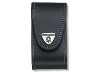 Victorinox VIC4052130 - Black Leather Belt Pouch (5-8 Layer)