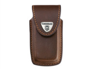 Victorinox - Brown Leather Pouch (5-8 Layer) Blister