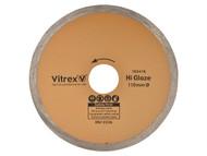 Vitrex VIT103416 - Diamond Blade Hi Glaze 110mm