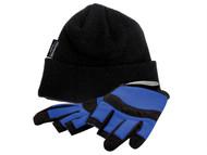 Vitrex VIT336120 - Thermal Hat & Fingerless Gloves Set