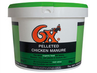 Vitax VTX76XPCF8 - 6X Pelleted Poultry Manure 8kg Tub