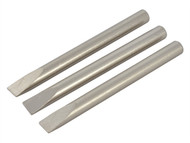Weller WELS1 - S1 Straight Tips (3) for SI25