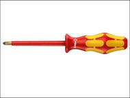 Wera WER006154 - Kraftform 162i VDE Insulated Screwdriver Phillips PH2 x 100mm