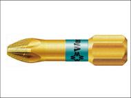 Wera WER056704 - 855/1 BDC BiTorsion Pozidriv PZ3 Bit Diamond Coated 25mm Pack 10