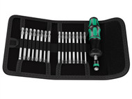 Wera WER059293 - Kraftform Kompakt 60 Torque Screwdriver Set of 17 1.2-3.0Nm