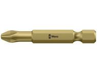 Wera WER060055 - 855/4 TH Pozidriv Torsion PZ1 Bit Extra Hard Insert Bit 50mm Pack 10