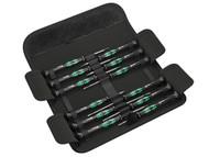 Wera WER073675 - Kraftform Micro Screwdriver Set 12 Piece SL/PH/HEX/TX