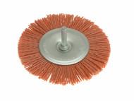 Wolfcraft WFC1502 - 1502 Nylon Wheel Brush 100mm
