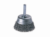 Wolfcraft WFC2106 - 2106-000 Wire Cup Brush 50mm x 6mm Shank