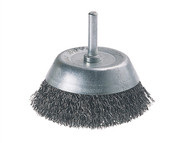 Wolfcraft WFC2108 - 2108-000 Wire Cup Brush 75mm x 6mm Shank