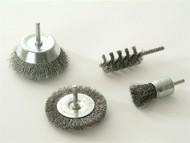 Wolfcraft WFC2133 - 2133 000 Wire Brush Set