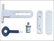 Yale Locks YAL2P117WE - P117 Ventilation Window Lock White Finish Pack of 2