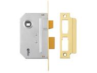 Yale Locks YALPM246PB25 - PM246 Internal 2 Lever Mortice Sashlock Polished Brass 67mm 2.5in