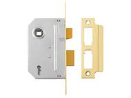Yale Locks YALPM246PB30 - PM246 Internal 2 Lever Mortice Sashlock Polished Brass 80mm 3in