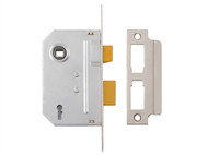 Yale Locks YALPM320CH25 - PM320 3 Lever Mortice Sashlock Polished Chrome 65mm 2.5in