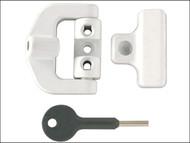 Yale Locks YALV8K123LKW - 8K123 PVCu Window Lock White Finish