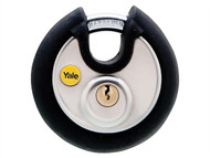 Yale Locks YALY13070 - Y130 70mm Stainless Steel Disc Padlock