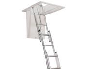 Zarges ZAR101400 - Aluminium 3 Part Loft Ladder
