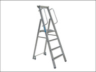 Zarges ZAR341633 - Mobile Mastersteps Platform Height 1.06m 4 Rungs