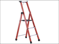 Zarges ZAR40431 - Fibreglass Platform Steps Platform Height 0.68m 3 Rungs