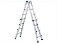 Zarges ZAR41194 - Trade Telescopic Combination Ladder 4 x 4 Rungs