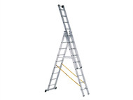 Zarges ZAR41521 - Skymaster Industrial 3-Part Combination Ladder 3 x 8 Rungs