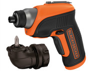 Black & Decker B/DCS3652LC - CS3652LC Cordless Screwdriver & Right Angle Attachment 3.6 Volt Li-Ion