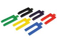 Faithfull FAIWEDGE100 - Plastic Packing Wedges (100)