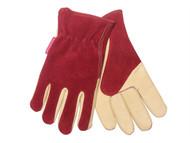 Kent & Stowe K/S70100120 - Ladies Gloves Raspberry / Tan
