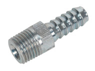"Sealey AC39 Screwed Tailpiece Male 1/4""BSPT - 5/16"" Hose Pack of 5"