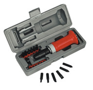 Sealey AK2081 Impact Driver Set 15pc Protection Grip