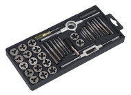 Sealey AK301 Tap & Die Set 40pc Split Dies Metric