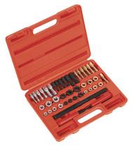 Sealey AK311 Re-Threader Master Kit 42pc Metric