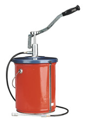 Sealey AK455 Bucket Greaser with Follower Plate 12.5kg Extra Heavy-Duty