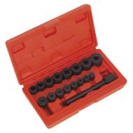 Sealey AK710 Universal Clutch Aligning Tool Set 17pc