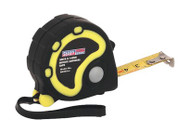 Sealey AK988 Rubber Measuring Tape 3mtr(10ft) x 16mm Metric/Imperial