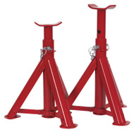 Sealey AS2000F Axle Stands (Pair) 2tonne Capacity per Stand - Folding Type