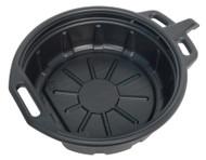 Sealey DRP03 Oil/Fluid Drain Pan 17ltr
