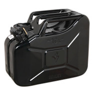 Sealey JC10B Jerry Can 10ltr - Black