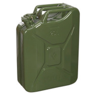 Sealey JC20G Jerry Can 20ltr - Green